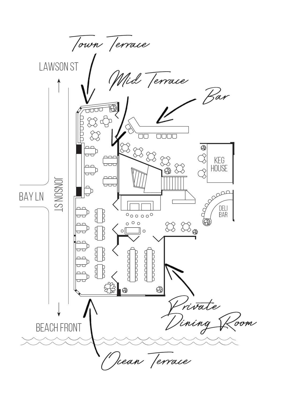 Loft Byron Bay - Floor Plan